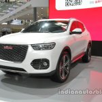 Haval HR-02 concept front three quarters left at Auto China 2016