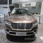 Hawtai Boalige Plus front at Auto China 2016