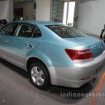 Hawtai iEV230 rear three quarters at Auto China 2016