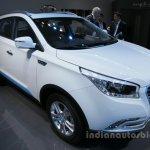 Hawtai xEV260 front three quarters at Auto China 2016
