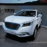 Hawtai xEV260 front three quarters left side at Auto China 2016