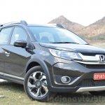 Honda BR-V CVT front quarters Review