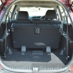 Honda BR-V boot space seats folded VX Diesel Review