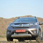 Honda BR-V front end VX Diesel Review