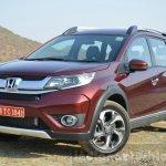 Honda BR-V front three quarters VX Diesel Review