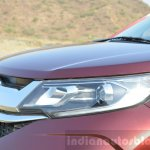 Honda BR-V headlight and grille VX Diesel Review