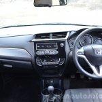 Honda BR-V petrol dashboard  Review