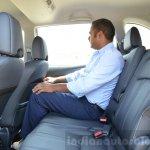 Honda BR-V rear legroom VX Diesel Review
