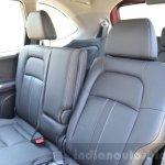Honda BR-V rear seats VX Diesel Review