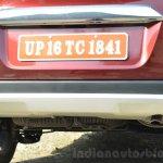 Honda BR-V rear skid plate VX Diesel Review