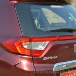 Honda BR-V taillight cluster VX Diesel Review