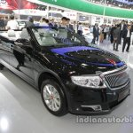 Hongqi H7 Convertible front three quarters at Auto China 2016