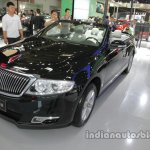 Hongqi H7 Convertible front three quarters left side at Auto China 2016