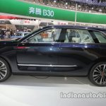 Hongqi S Concept side profile at Auto China 2016