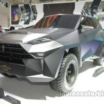 IAT Karlmann King front three quarters left side at Auto China 2016