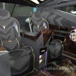 IAT Karlmann King interior features at Auto China 2016