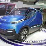 Iveco Vision front three quarters left side at Auto China 2016