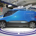 Iveco Vision side profile at Auto China 2016
