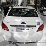 JAC iEV6 at rear Auto China 2016