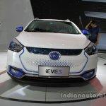 JAC iEV6S front at Auto China 2016