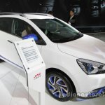JAC iEV6S front three quarters right side at Auto China 2016