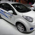 JAC iEV6e front three quarters at Auto China 2016