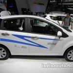 JAC iEV6e side profile at Auto China 2016
