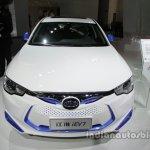 JAC iEV7 front at Auto China 2016