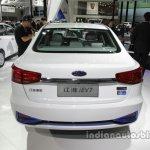 JAC iEV7 rear at Auto China 2016