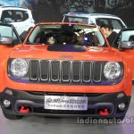 Jeep Renegade Trailhawk front at Auto China 2016