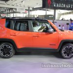 Jeep Renegade Trailhawk side profile at Auto China 2016