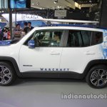 Jeep Renegade Warcraft edition side profile at Auto China 2016
