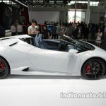 Lamborghini Huracan Spyder LP 610-4 at side profile Auto China 2016