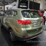 Lifan X7 rear three quarters left side at Auto China 2016