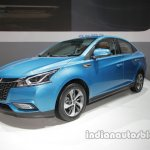 Luxgen 3 at Auto China 2016 front three quarters