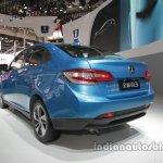 Luxgen 3 at Auto China 2016 rear three quarters