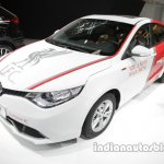 MG GT Liverpool F.C. special edition front three quarters at Auto China 2016