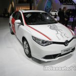 MG GT Liverpool F.C. special edition front three quarters right side at Auto China 2016