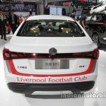 MG GT Liverpool F.C. special edition rear at Auto China 2016