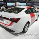 MG GT Liverpool F.C. special edition rear three quarters at Auto China 2016