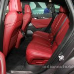 Maserati Levante interior rear seats at Auto China 2016