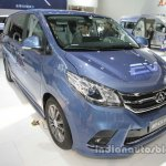 Maxus EG10 EV front three quarters at Auto China 2016