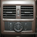 Mercedes GLS rear AC vent India launch