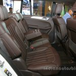 Mercedes GLS rear seat legroom India launch