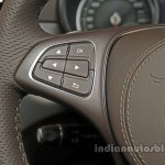 Mercedes GLS steering mounted controls India launch