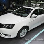 Methanol-capable Geely Emgrand at Auto China 2016 front three quarters