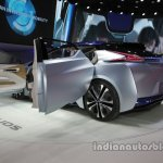 Nissan IDS Concept rear three quarters at Auto China 2016