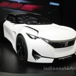 Peugeot Fractal concept front three quarters at Auto China 2016