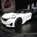 Peugeot Fractal concept front three quarters left side at Auto China 2016