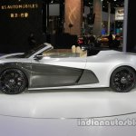 Qiantu K50 roadster concept side profile at Auto China 2016